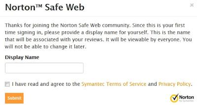 Cara Mendaftarkan Blog di Norton Safe Web 3