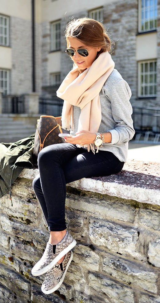 Amazing Chic Fall Outfit