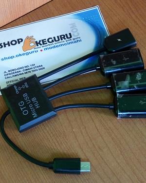 Micro USB OTG Hub 4 in 1 Kabel Data & Charge