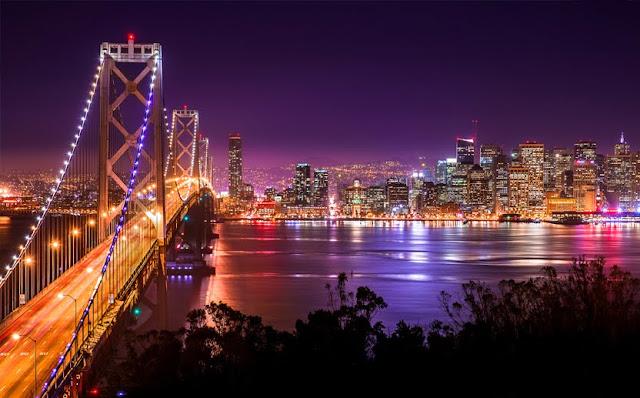 استعرض الفيديو اجمل الاماكن في مدينة سان فرانسيسكو علي رأسهم جسر البوابة الذهبية الذي يعد من افضل معالم مدينة سان فرانسيسكو  وظهر في الفيديو ايضا : مبني العبارة - برج ليليان كويت - شارع لومبارد