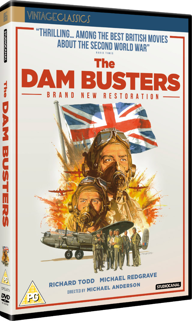 THE DAM BUSTERS Collector's Edition DVD