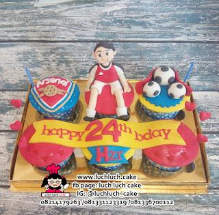Cupcake Ulang Tahun Arsenal FC