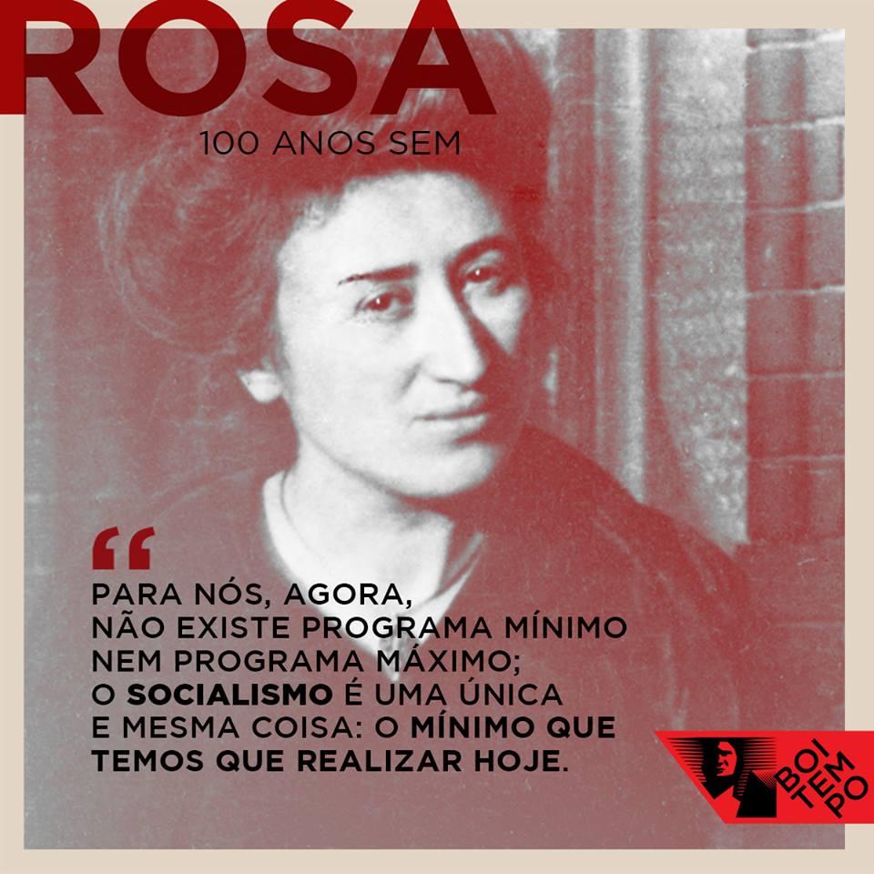 Prestes A Ressurgir 100 Anos Sem Rosa Luxemburgo