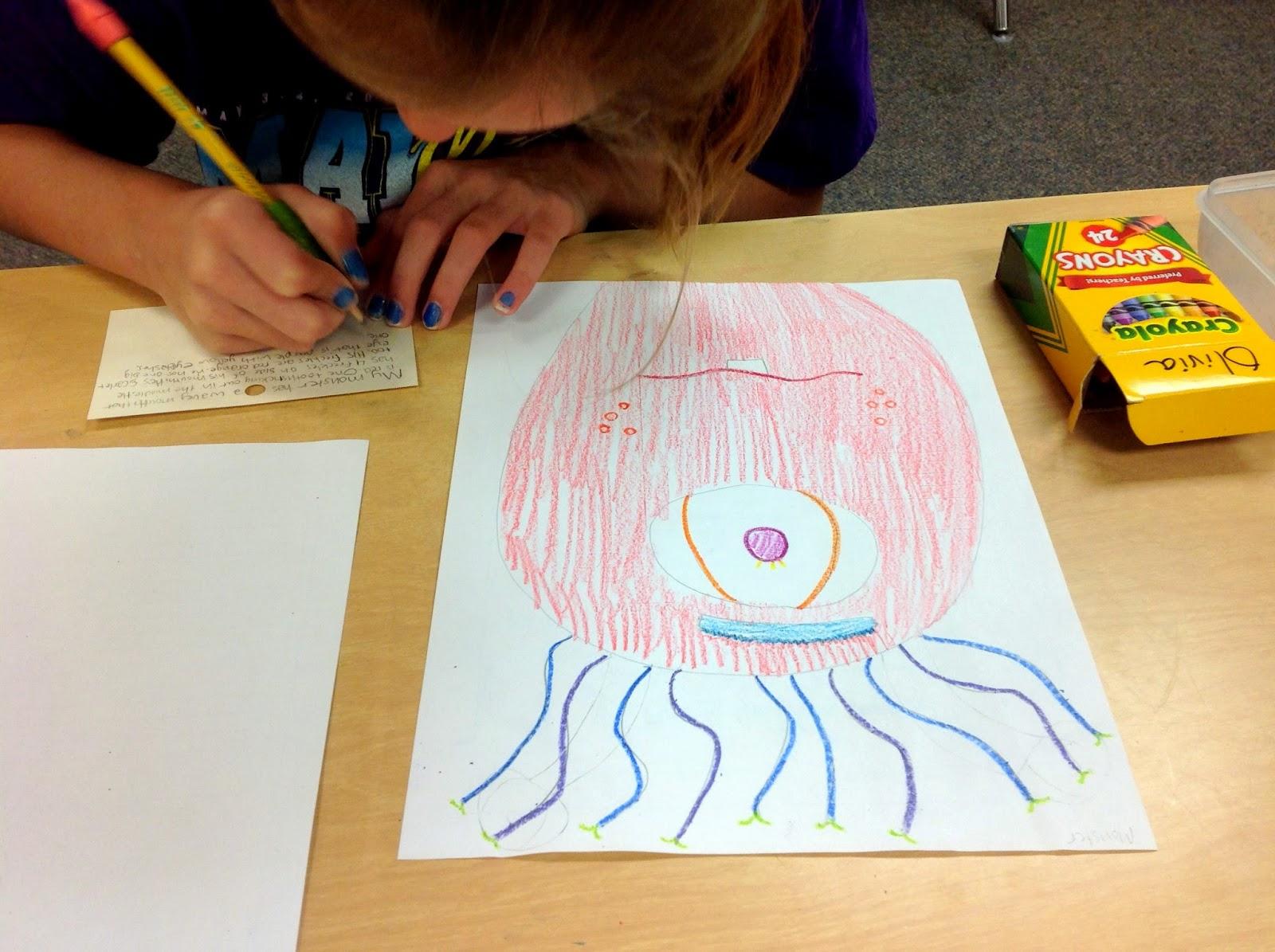 small resolution of Descriptive Writing 4th Grade - October - SSSTeaching