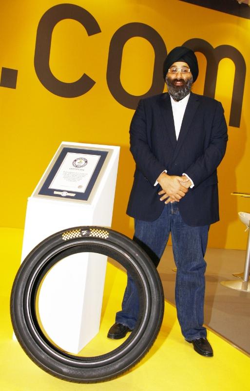 Kỷ lục Guinness sẽ xác nhận đây là lốp xe...đắt nhất hành tinh
