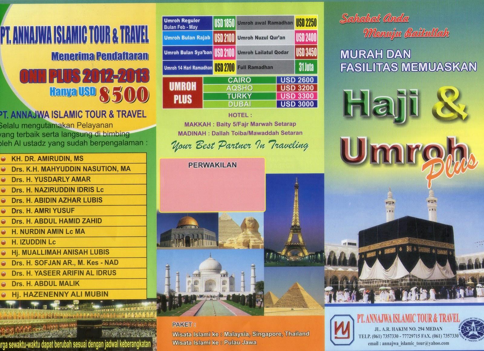 Brosur Umroh Annajwa Umroh Dan Haji Plus