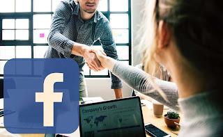 mencari lowongan pekerjaan di facebook