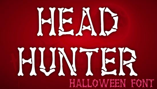 HEADHUNTER font -Cazador de cabezas