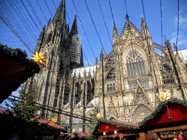 The Cathedral in Cologne at Christmas