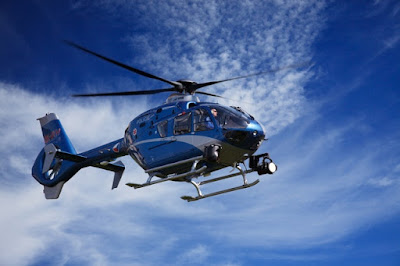 A helicopter ride for your husband