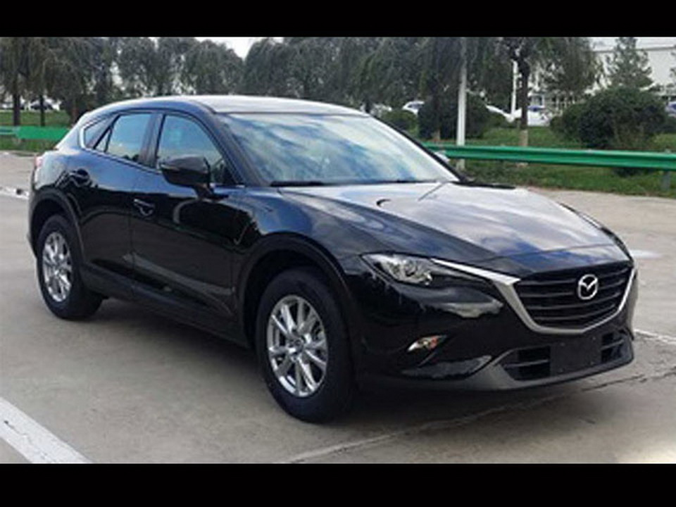 new mazda cx 4 sports crossover s name confirmed. Black Bedroom Furniture Sets. Home Design Ideas
