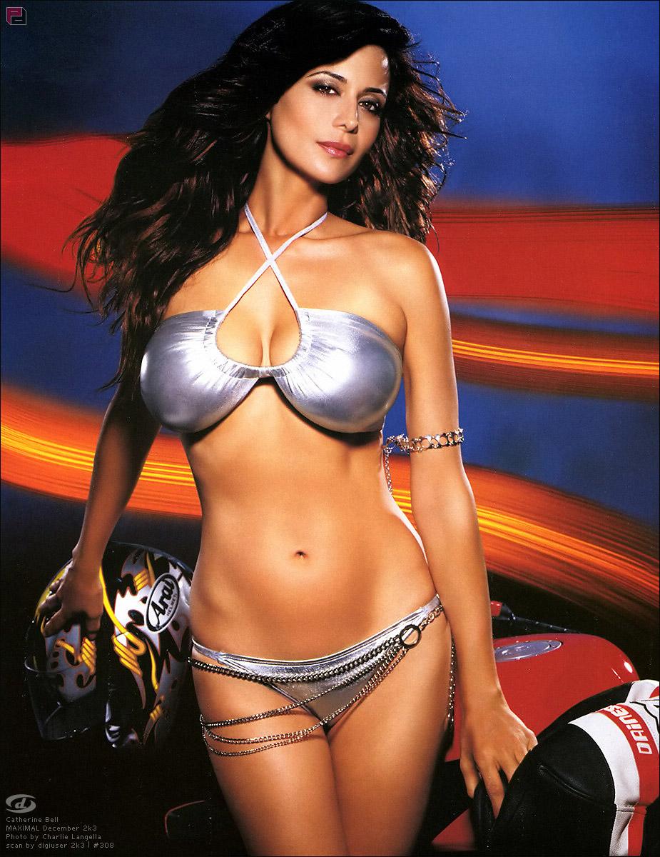 Catherine Bell Bikini Pics 75
