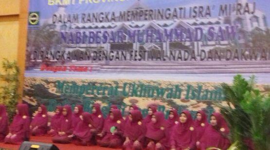 Selayar Sabet 3 Tropy, Festival Nada Dakwah BKMT Se-Sulsel