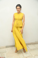 Taapsee Pannu looks mesmerizing in Yellow for her Telugu Movie Anando hma motion poster launch ~  Exclusive 079.JPG