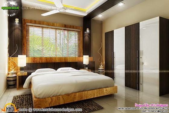 Beautiful bedroom interiors