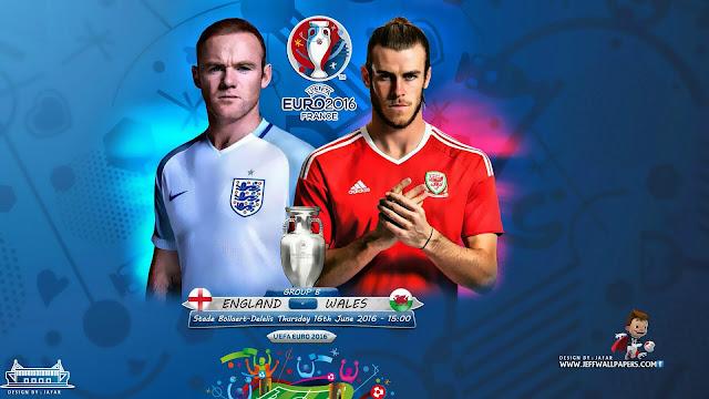 Inglaterra x País de Gales (16/06/2016) - Prognóstico, horário e data