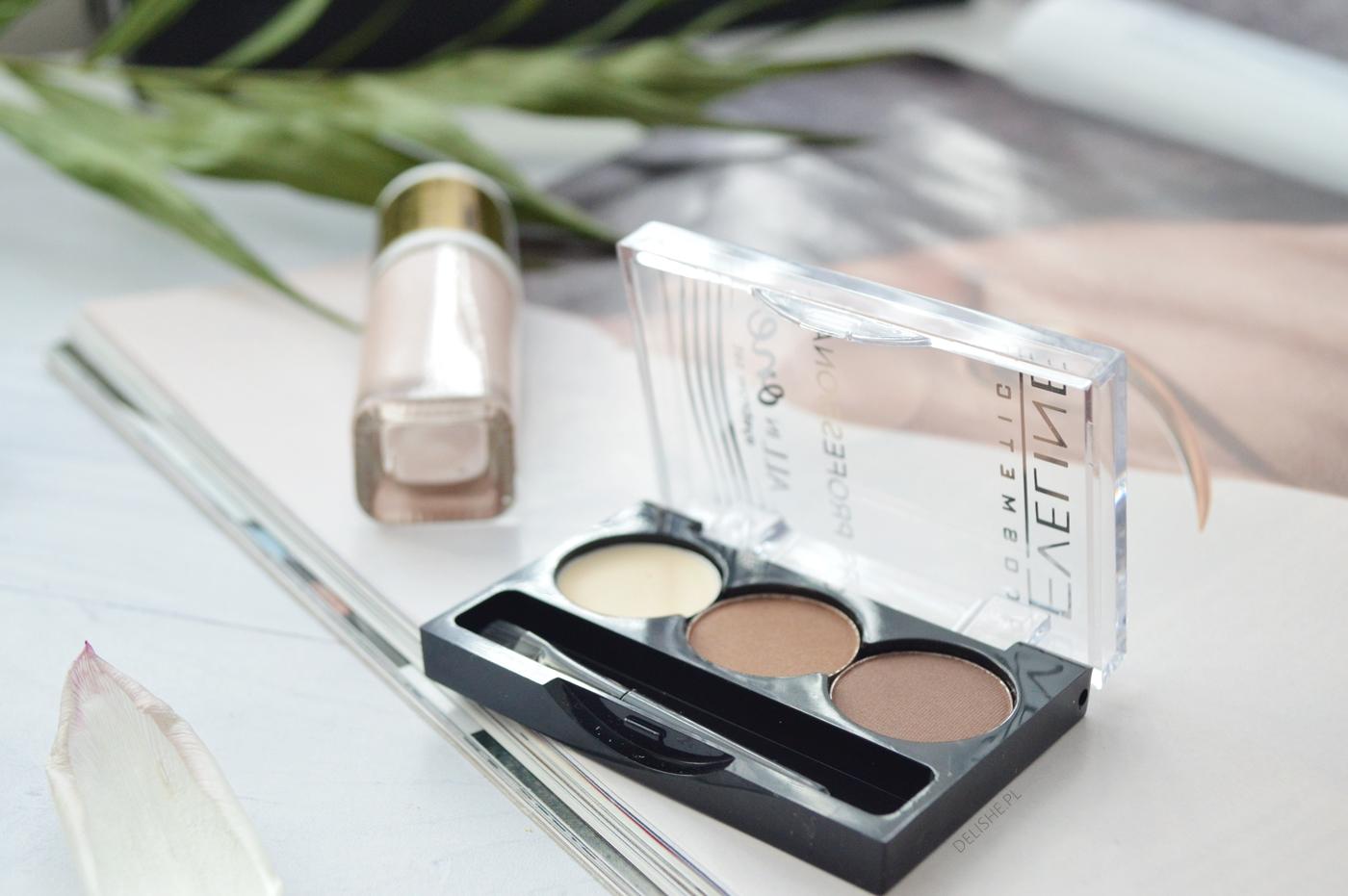 eveline cosmetics paletka do brwi