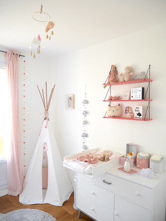 Idee decoration chambre bebe fille meilleures images d for Decoration 1 an fille