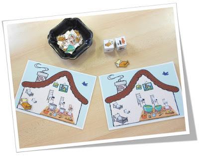 teacher charlotte ranger la maison des 3 ours notion de petit grand moyen. Black Bedroom Furniture Sets. Home Design Ideas