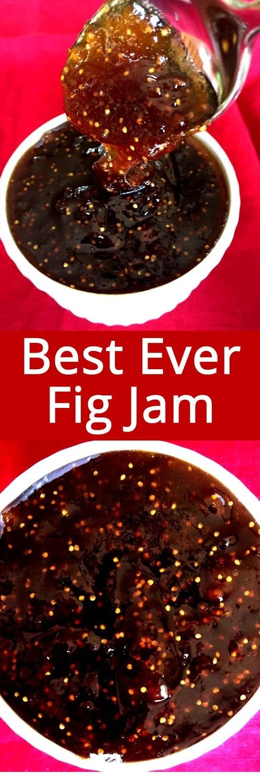 Homemade Fig Jam Recipe