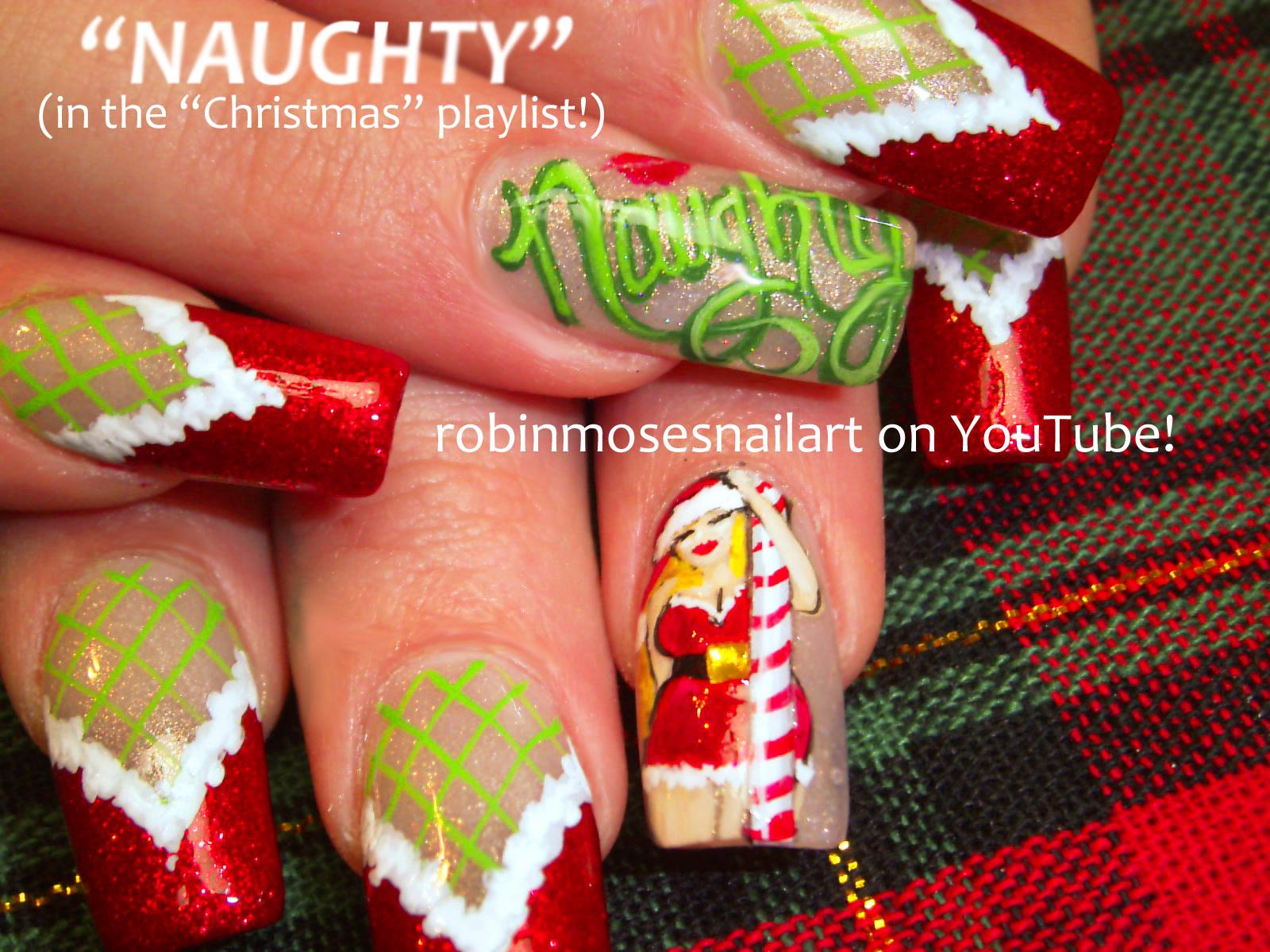 Nail Art by Robin Moses: cutest nail art for christmas, cute ...