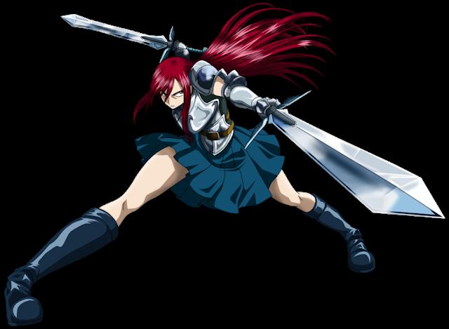Kata-Kata Mutiara Erza Scarlet dari Anime Fairy Tail