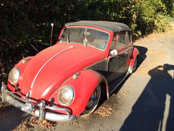 1968 VW Bug Convertible For Sale