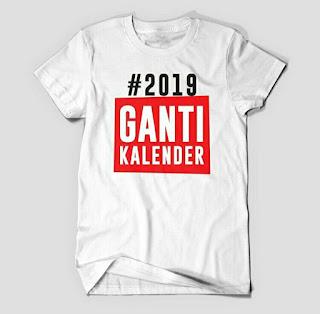meme #2019GantiKalender