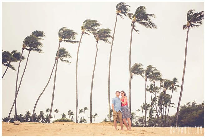 Hawaii engagement portratis