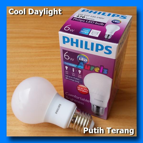 lampu led philips 6 watt cool daylight