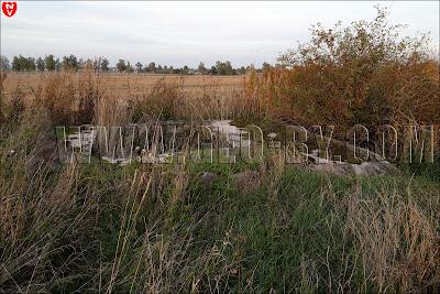 Второй найденный бункер у деревни Кудиновичи. Наблюдательный пункт