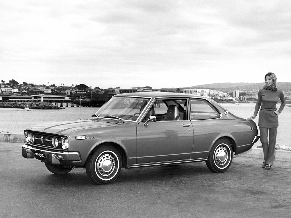 Toyota carina 2 door us 1972
