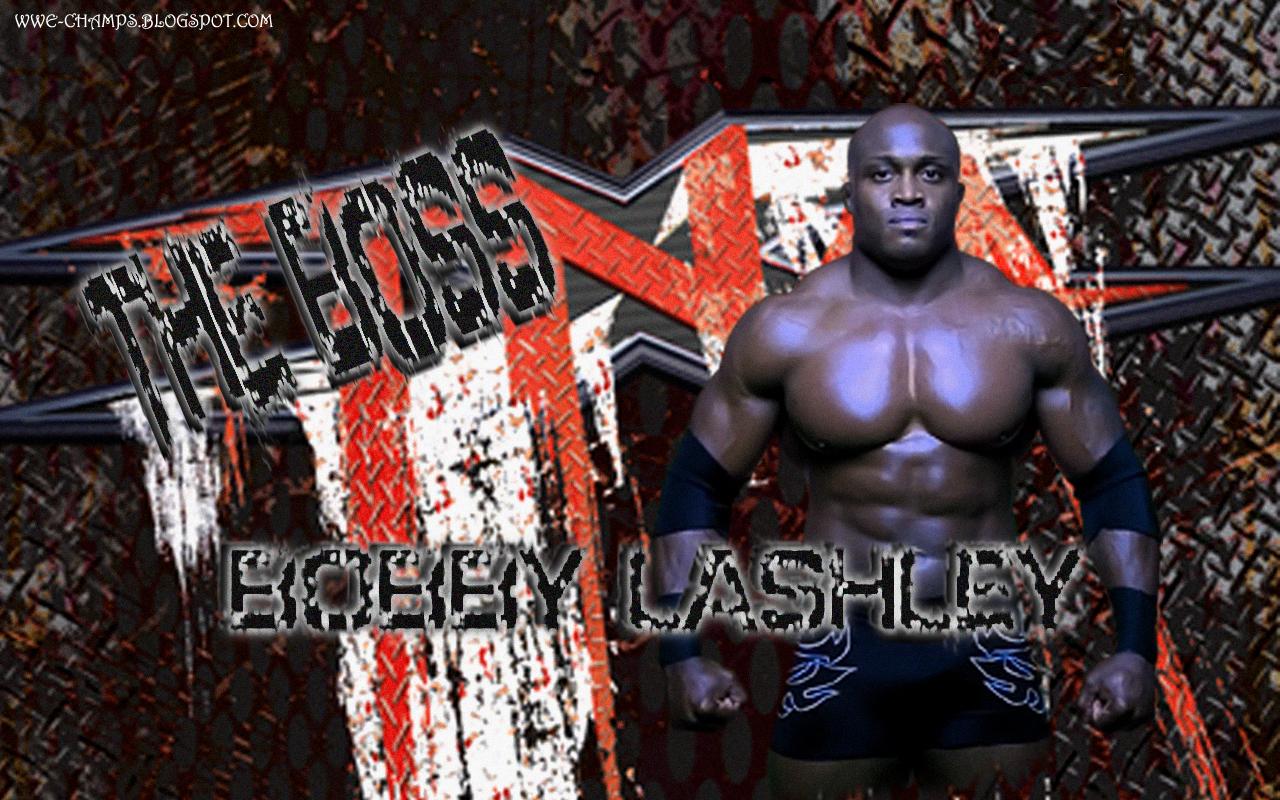 Batista Hd Wallpaper Wwe Champs The Dominator Bobby Lashley