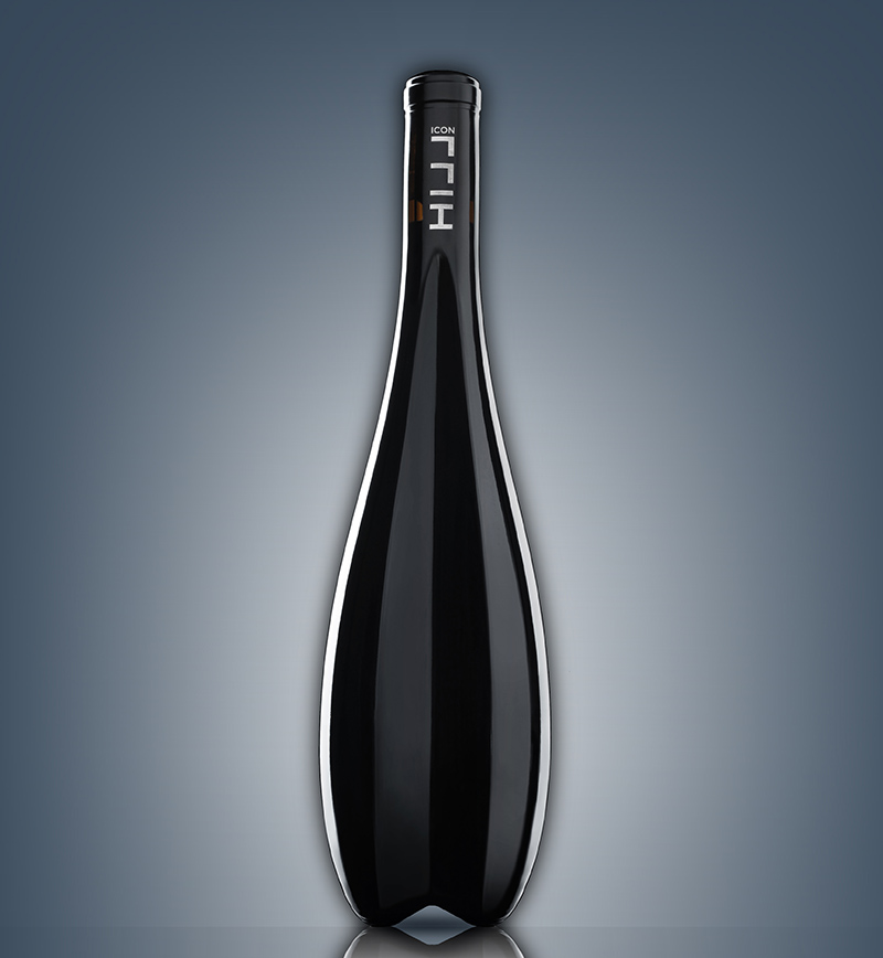 Zaha Hadid Wine Bottle