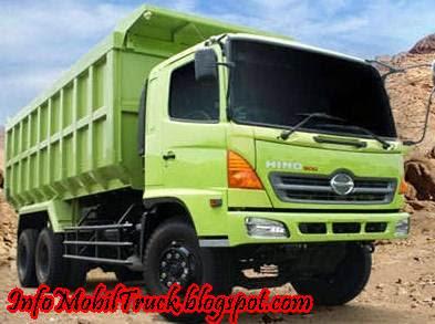 Gambar hino dump truk lohan