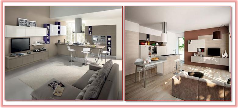 Gena Design: Cucina-Soggiorno Open space