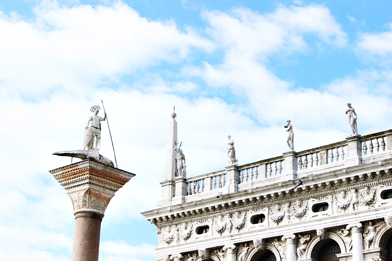 Trg Svetog Marka u Veneciji Italija.