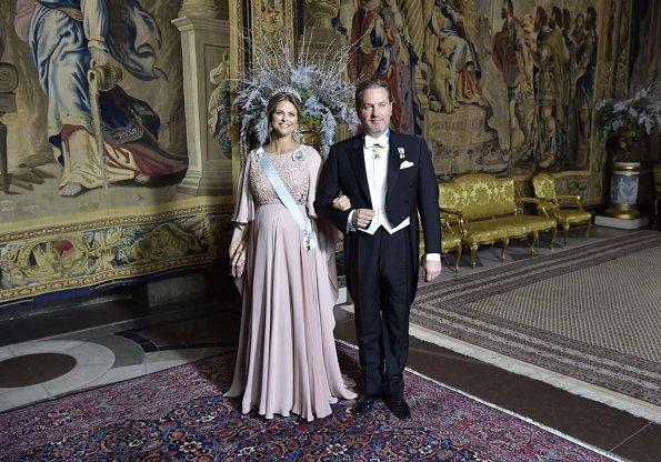Queen Silvia, Crown Princess Victoria, Princess Sofia, Princess Madeleine wore Seraphine Maternity Dress