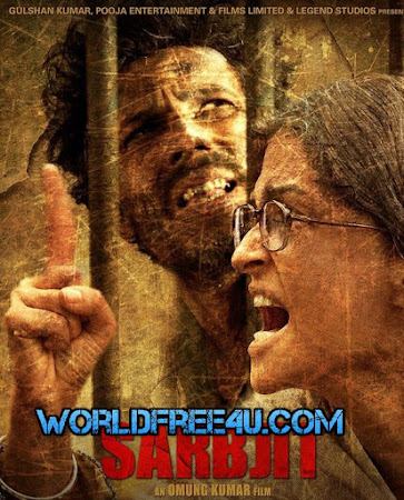 Poster Of Hindi Movie Sarbjit 2016 Full HD Movie Free Download 720P Watch Online