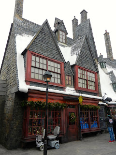 Harry Potter Area of Islands of Adventure in Orlando, Florida