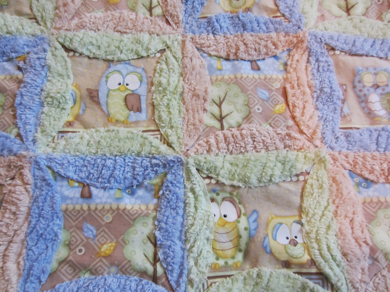 My Patchwork Quilt: A BABY BLANKET FOR HENRY