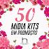 50 Mídia Kits com 50 Reais de Desconto