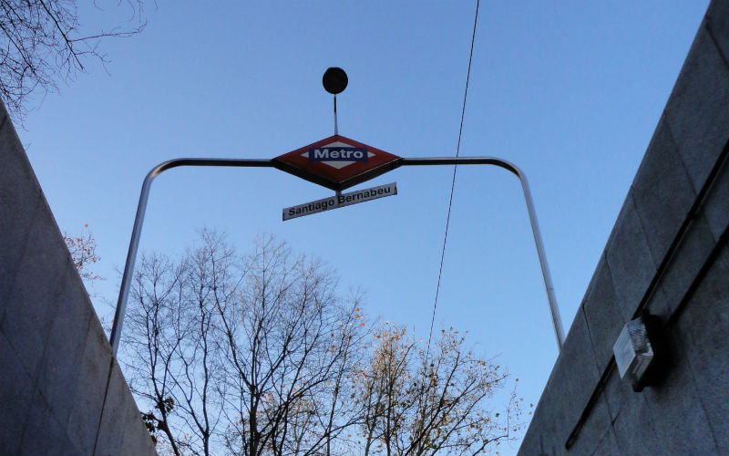Estación de Metro Santiago Bernabéu