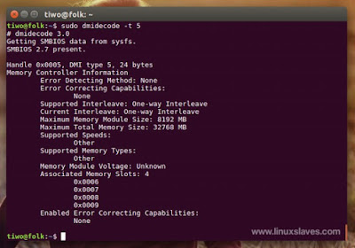 System Information Linux Command