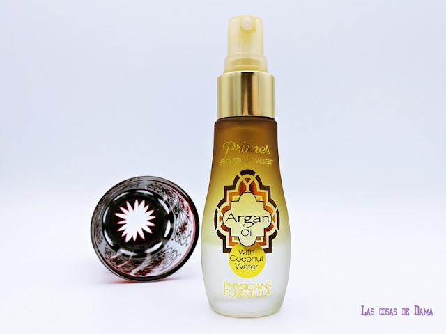 Primer Argan Wear Physicians Formula piel perfecta skincare beauty makeup perfection