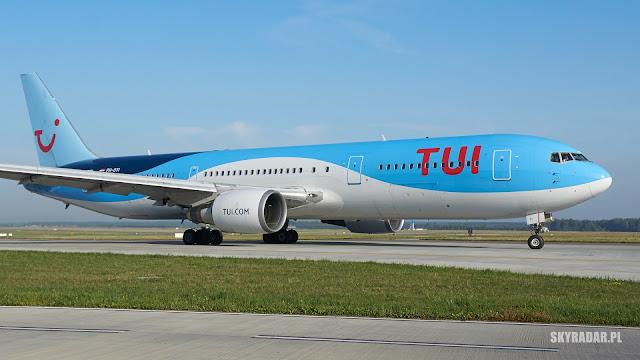 Katowice - Dominikana - PH-OYI - Boeing 767 - TUI