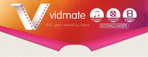 Download VidMate 2017 at Official Website/Homepage