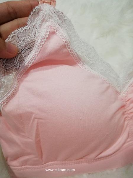 Lace cantik dan lembut material