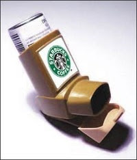 Funny Picture - Coffee Respirator for Caffeine Addicts