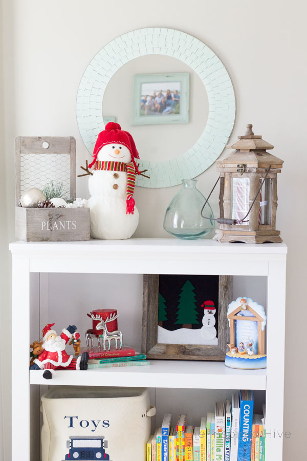 DIY Framed Felt Holiday Kid's Art
